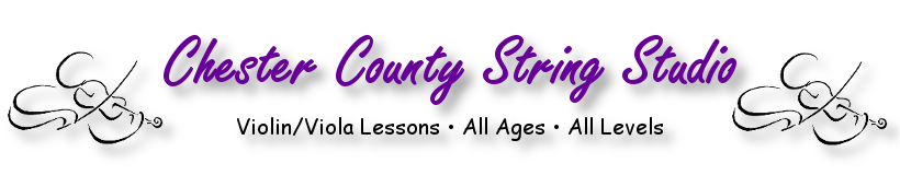 Chester County String Studio - Private Violin & Viola Lessons